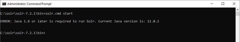 Installing SOLR 7 3 1 (on prem) with OpenJDK for Sitecore