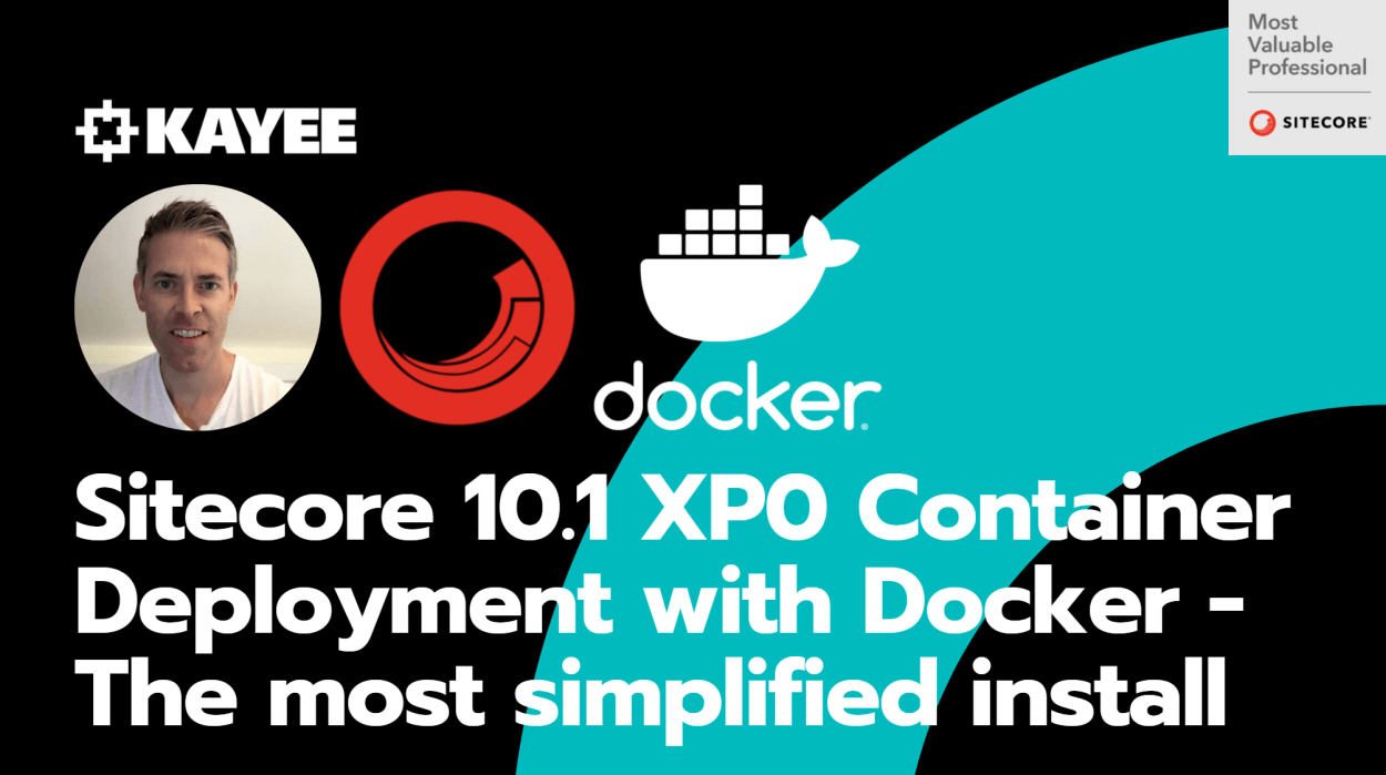 Sitecore 10.1 XP0 Container Deployment with Docker - The most simplified install