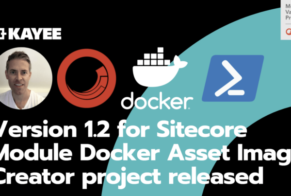Version 1.2 for Sitecore Module Docker Asset Image Creator project released