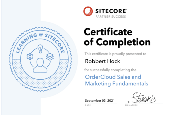 OrderCloud Sales and Marketing Fundamentals elearning